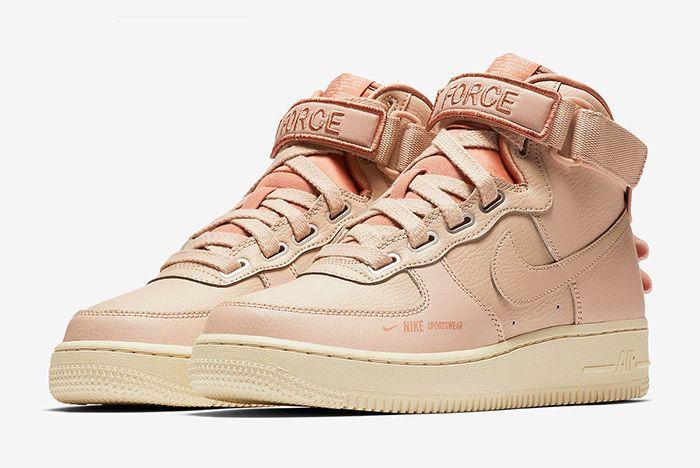 Nike Air Force 1 High Utility Rust 1