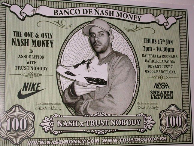Nash Money Show In Barcelona 16