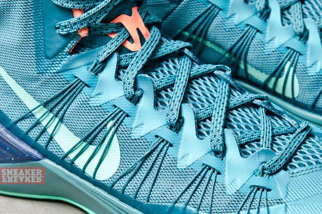 Nike Hyperdunk 2013 Mineral Teal Atomic Pink 3