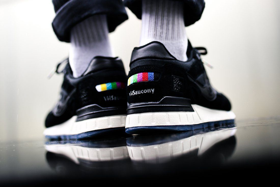 The Good Will Out X Saucony Shadow 5000 Vhs23