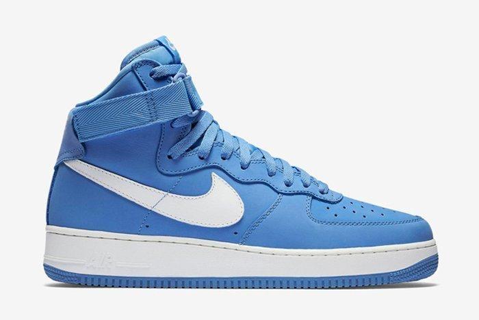Nike Air Force 1 High University Bluesummit White7
