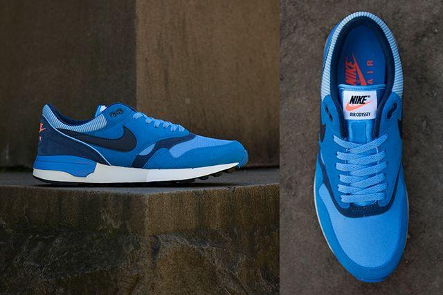 Nike Air Odyssey Blue Suede2