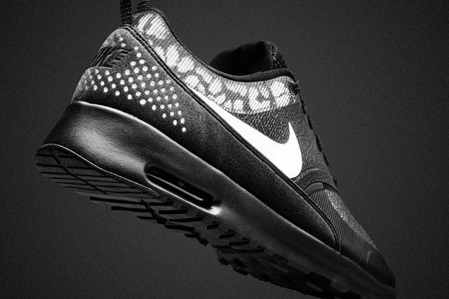 Nike Air Max Black Reflective Collection Air Max Thea 1