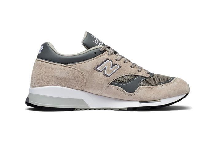 New Balance 1500 Made In England Tan Grey Medial