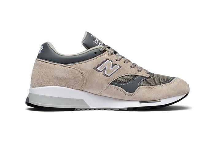 New Balance 1500 Made In England Tan Grey Medial