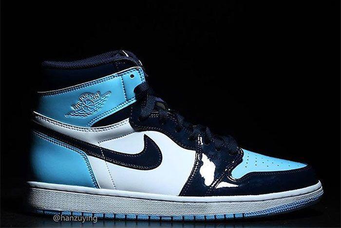 Air Jordan 1 Unc Patent Leather Cd0461 401 9