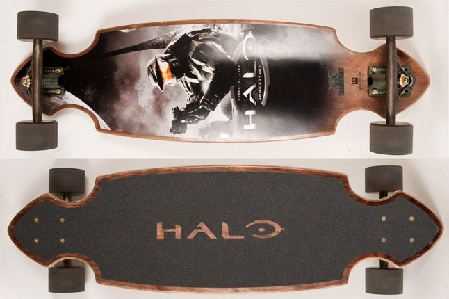 Globe Halo Master Chief Cruiser Board 1