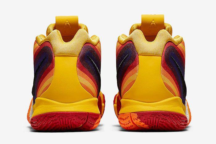 Nike Kyrie 4 Yellow Multicolor 943807 700 Release Date 5 Sneaker Freaker