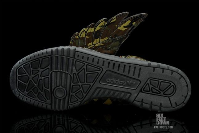 Adidas Jeremy Scott Camo Wings 1