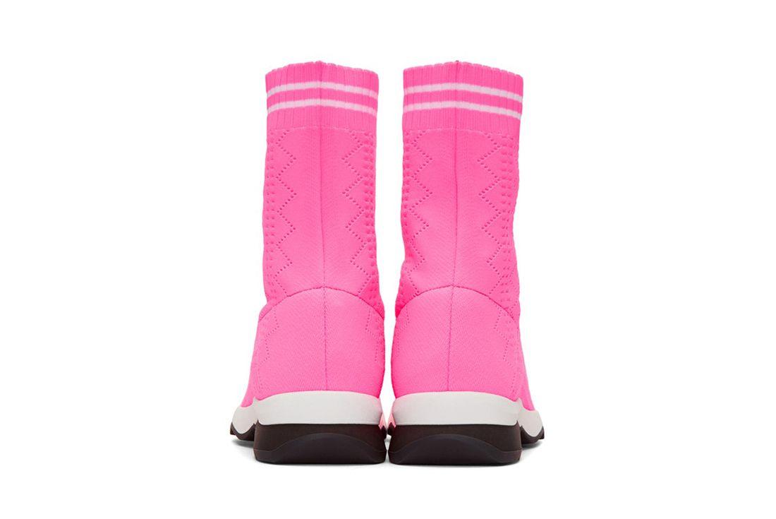 Fendi Pink Sock Sneaker Freaker 6