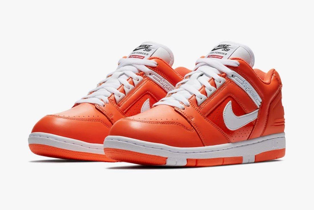 Supreme X Nike Air Force 2 25