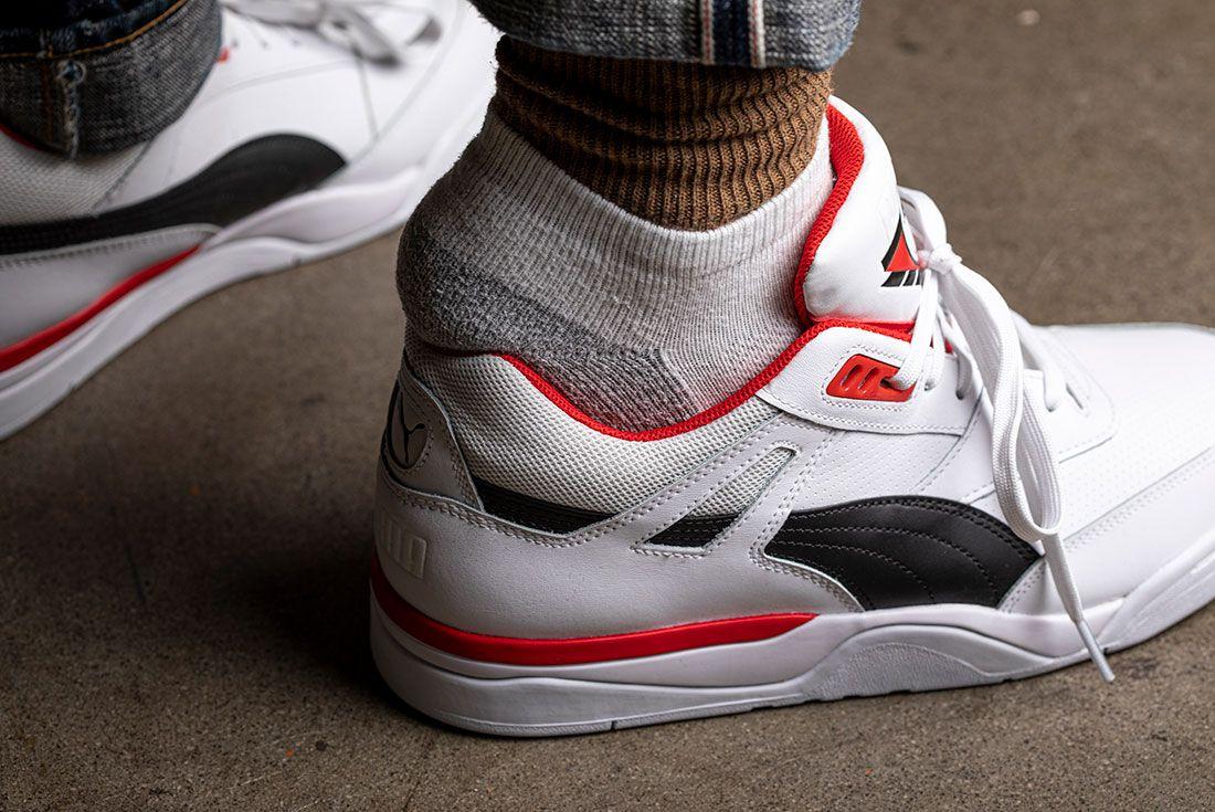 Double Sock Sneaker Heel