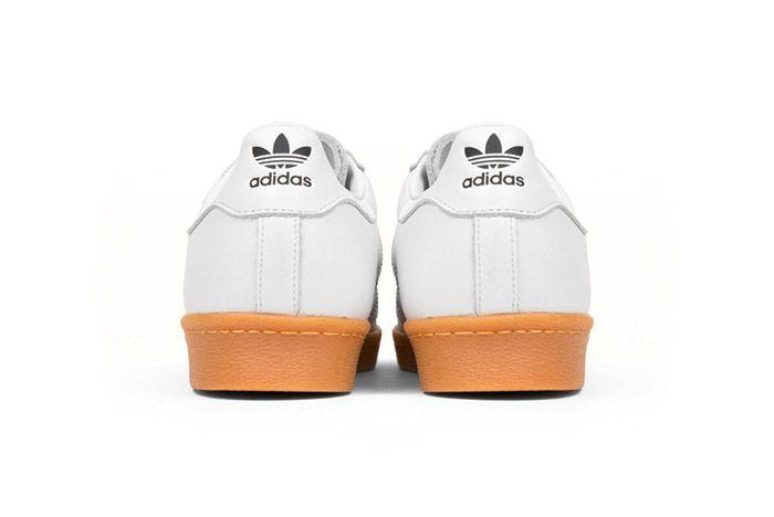 Adidas Originals Superstar 80 S Dlx White Gum 5