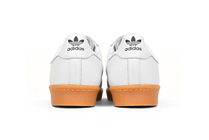 Adidas Originals Superstar 80 S Dlx White Gum 5