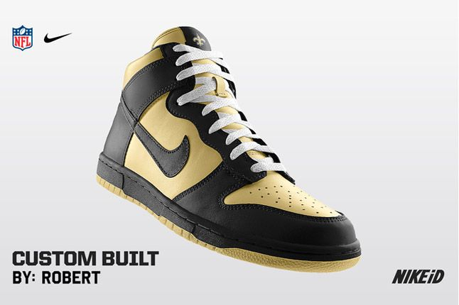 Nike Id Nfl No Saints 1