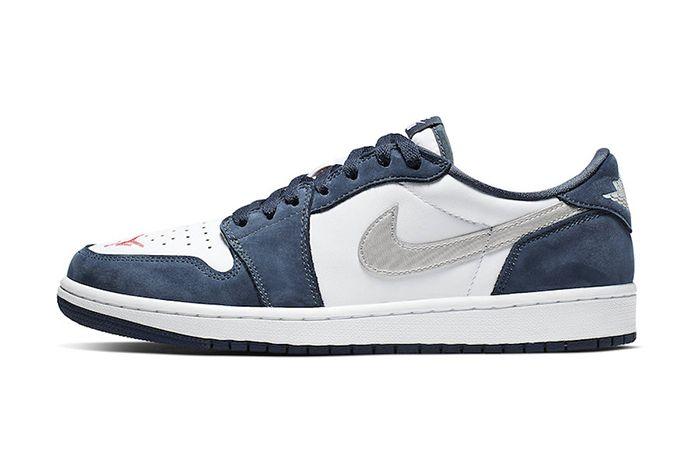 Nike Sb Air Jordan 1 Low Midnight Navy Cj7891 400 Release Date Lateral