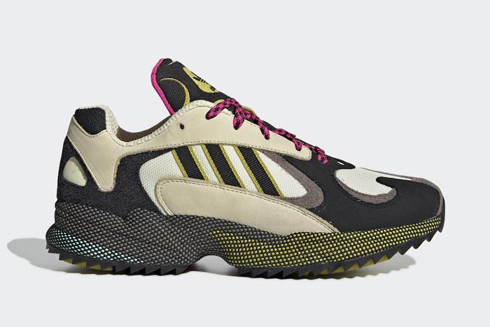 Adidas Yung 1 Trail Pink Lateral