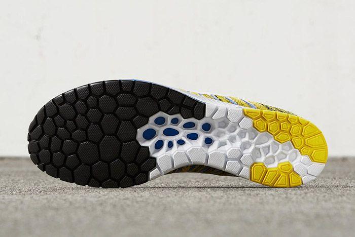Nike Zoom Flyknit Streak Boston Yellow Blue 1