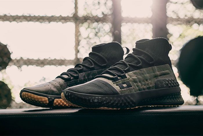 The Rock Under Armour Veterans Day Sneaker Freaker2