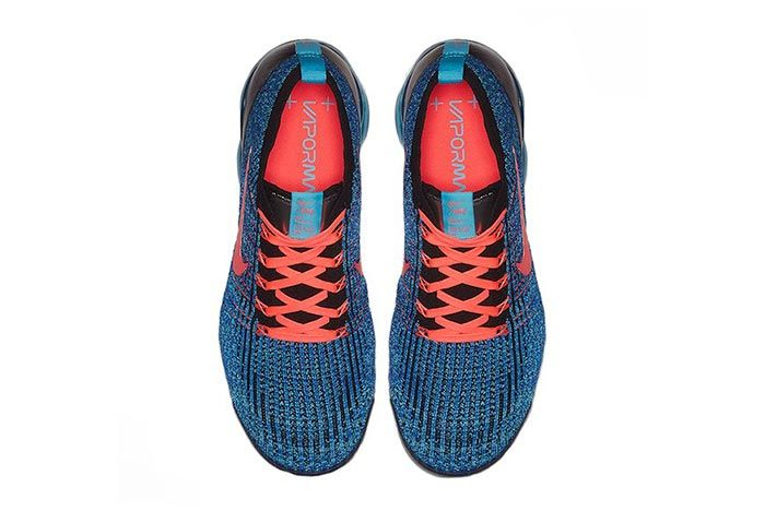 Nike Air Vapormax Flyknit 3 Blue Fury Top