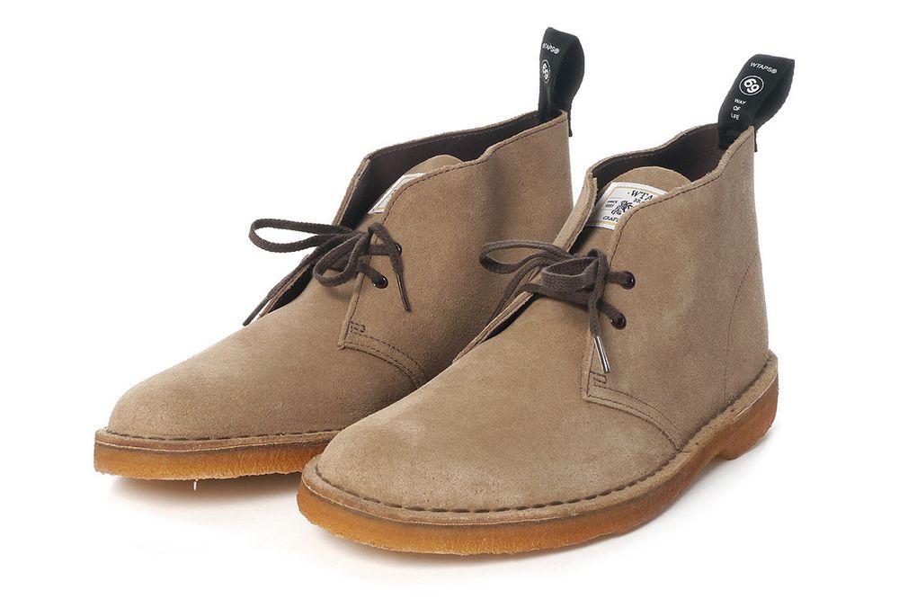 WTAPS x Clarks Desert Boot