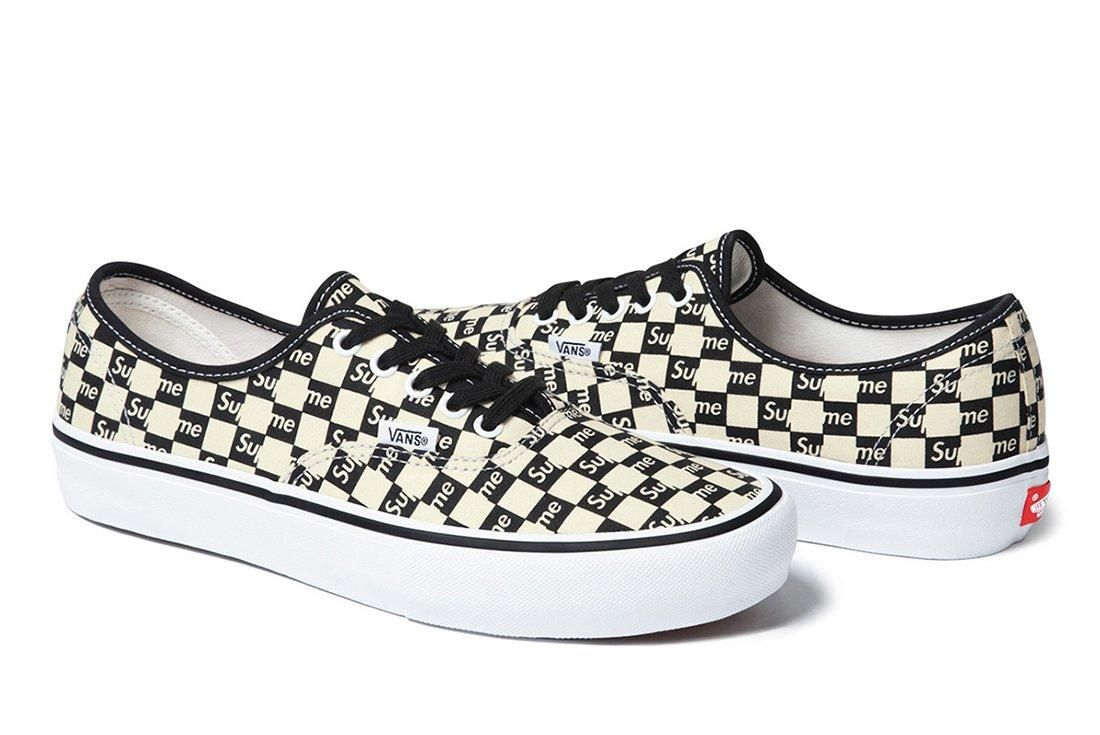 Supreme X Vans Checker Logo Pack 2