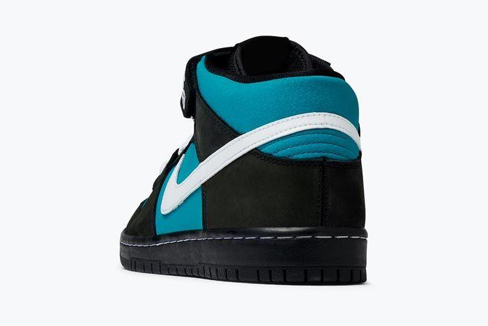 Nike Sb Dunk Mid Pro Griffey Heel