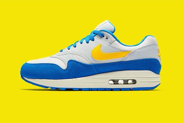 Nike Air Max 1 Amarillo Signal Blue 1