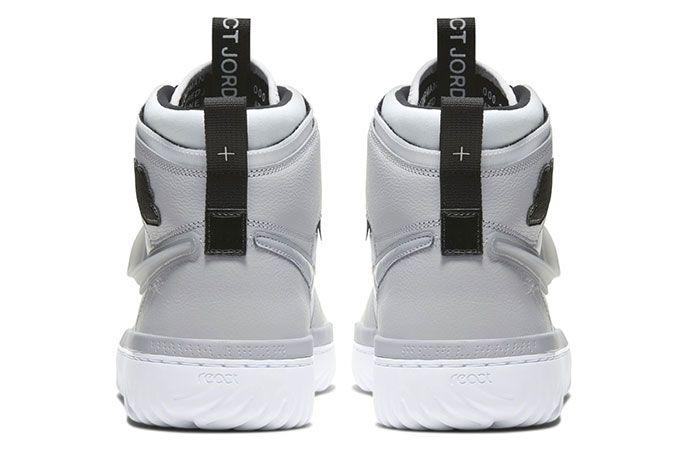 Air Jordan 1 React Grey3 Heel