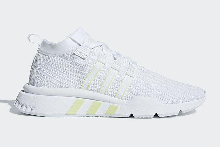 Adidas Eqt Support Adv Mid Primeknit Black White 2