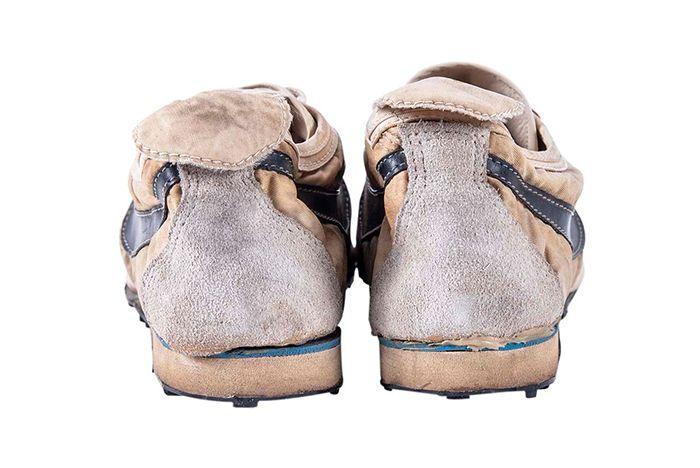Nike Moon Shoe Auction Heel Shot