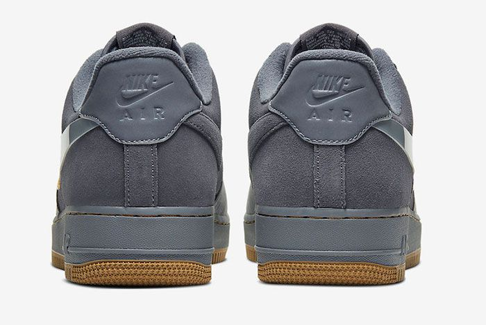 Nike Air Force 1 Low Cool Grey Yellow Cq6367 001 Release Date 5Heel