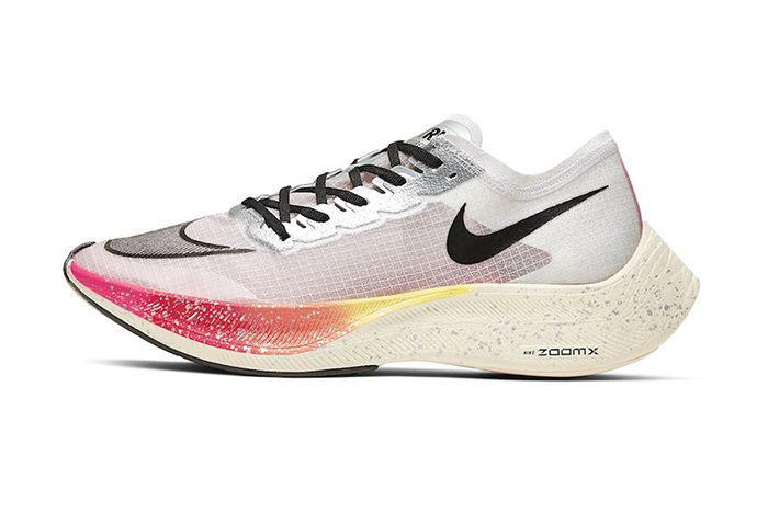 Nike Zoomx Vaporfly Next Percent Betrue White Guava Ice Black Ao4568 101 Release Date Lateral