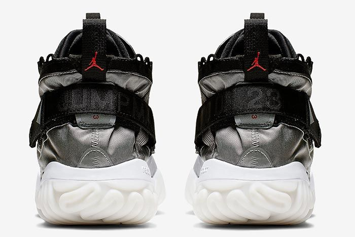 Air Jordan Proto React Metallic Silver Heel Shot 3