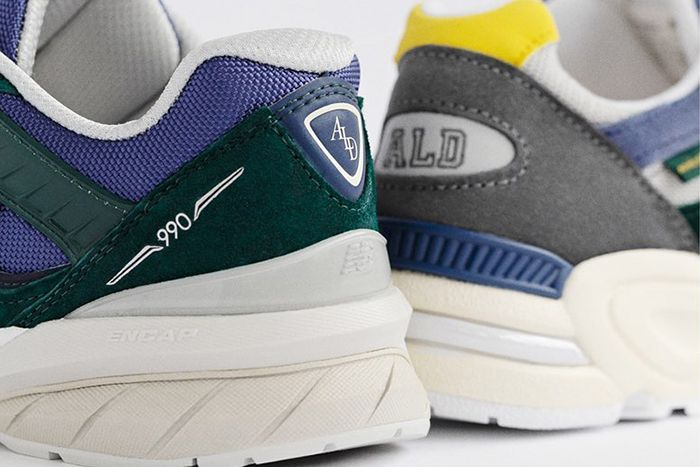 Aime Leon Dore New Balance 990V2 990V5 Release Date Heel