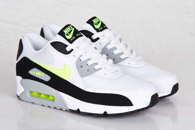Nike Air Max 90 White Volt 4