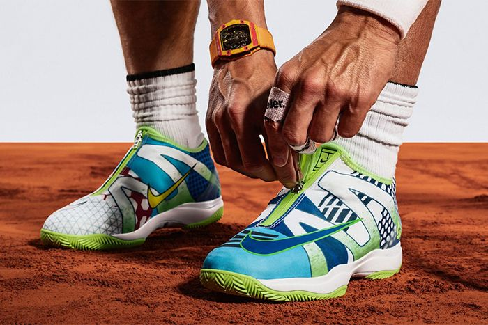 Nikecourt Cage 3 Glove What The Rafa Volt Glow White Release Date Hero Pair