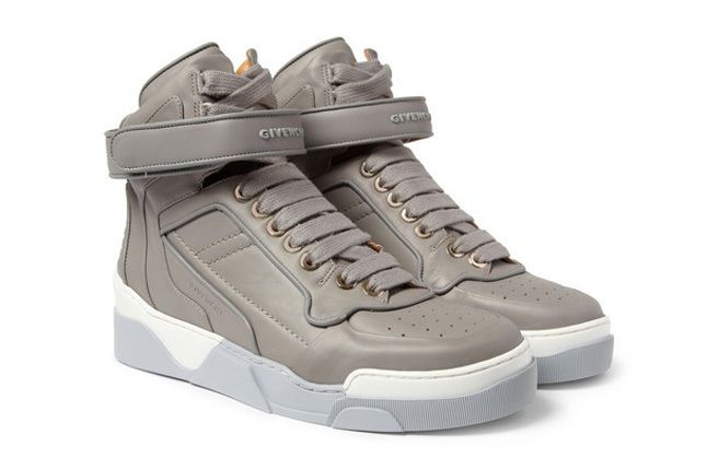 Givenchy Leather0High Top Sneakers 8