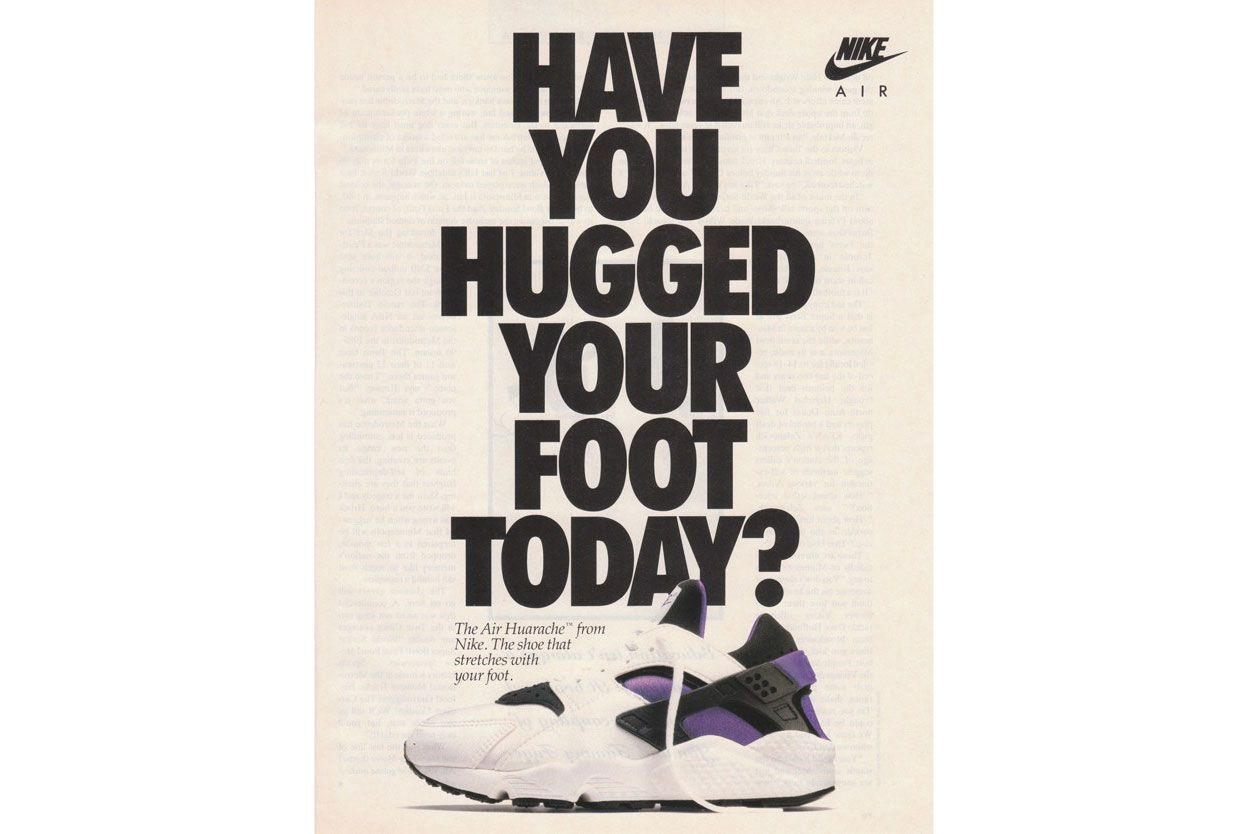 'Have you hugged your foot today?'
