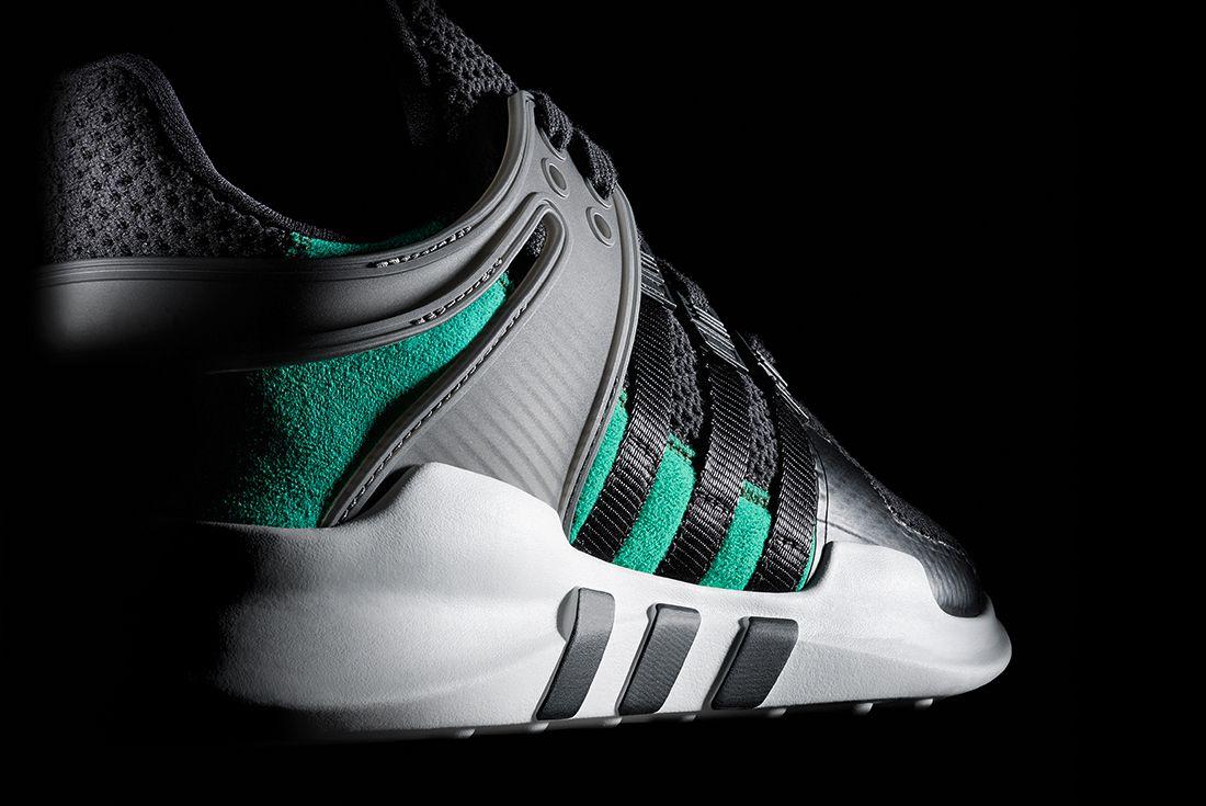 Adidas Eqt Adv Support Blacksub Green6