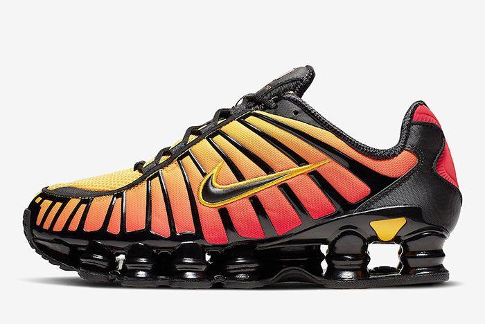 Nike Shox Tl Sunrise Av3595 004 Lateral