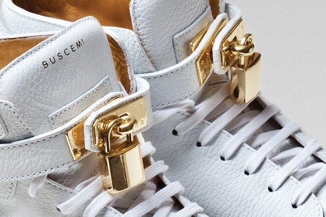 Close Up Buscemi Padlock Sneaker