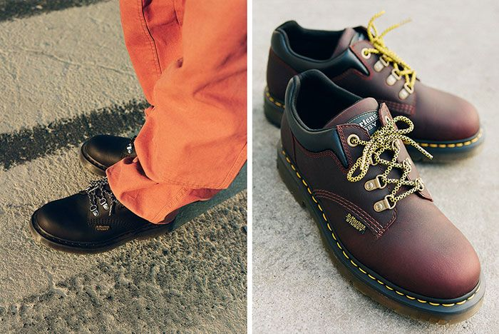 Stussy Dr Martens 8053 Hy Lateral Side Shot