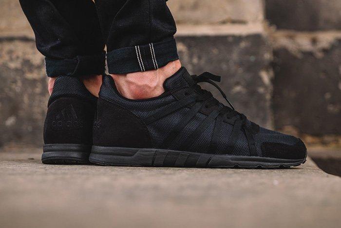 Adidas Eqt 93 Triple Black 3