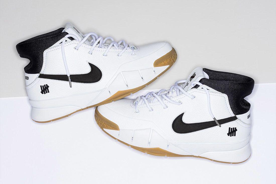 Nike Undefeated Zoom Kobe 1 Proto White 6