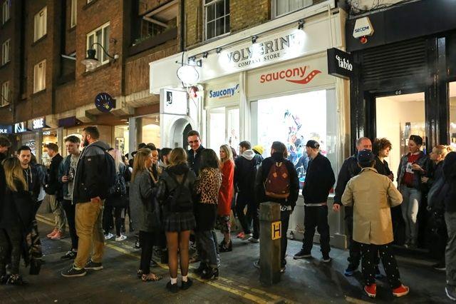 Saucony Neal Street London Opening Recap 15