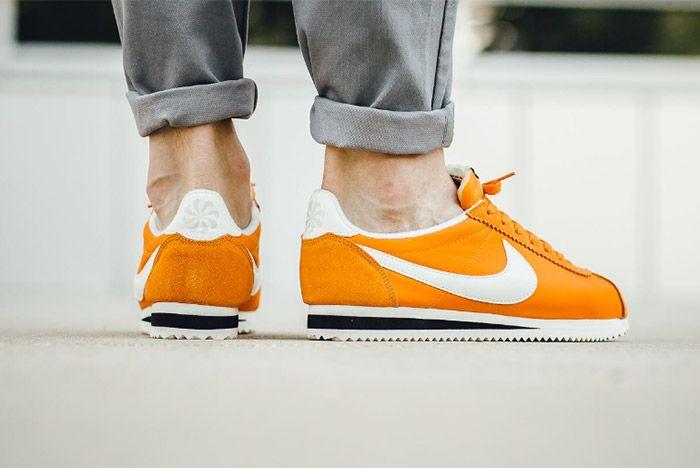 Nike Cortez Nylon Aw Clay Orange 1