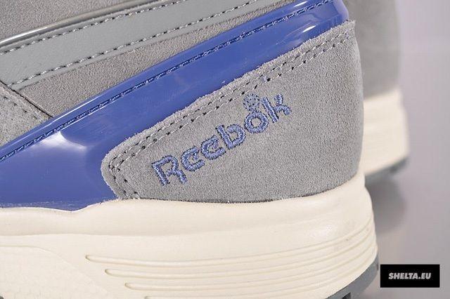 Reebok Pump Running Dual Fltgrey Bndnablu Heel Detail