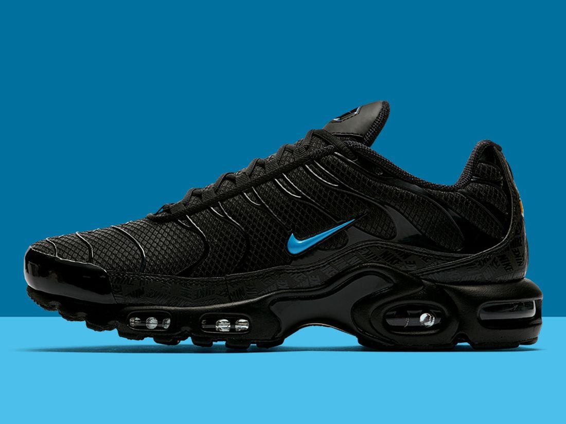 Regeneración a pesar de Ejecución  Metallic Blue Swoosh light Up the Nike Air Max Plus - Sneaker Freaker