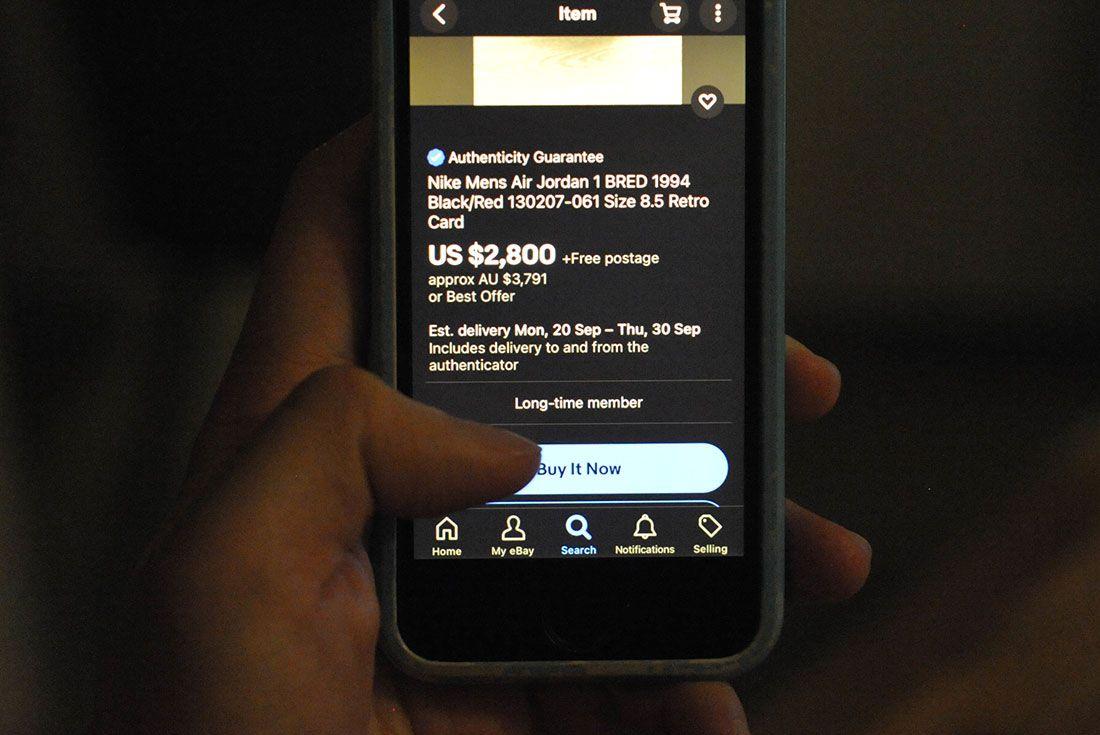 eBay Screen iPhone Buy It Now